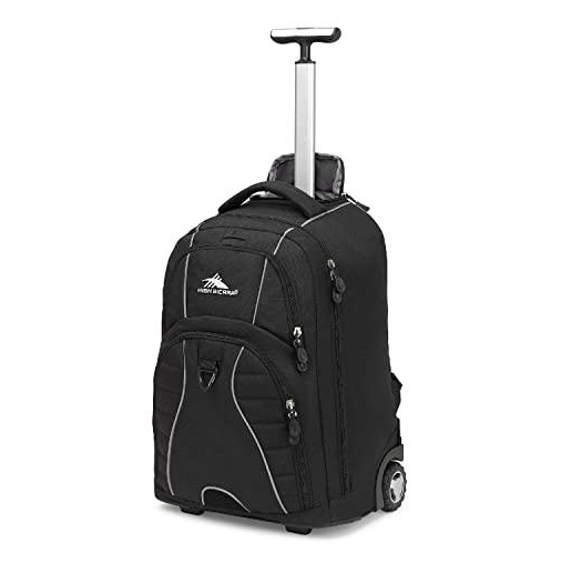 Backpack with wheels