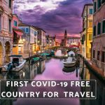 Travel Italy First Covid-19 Free Country