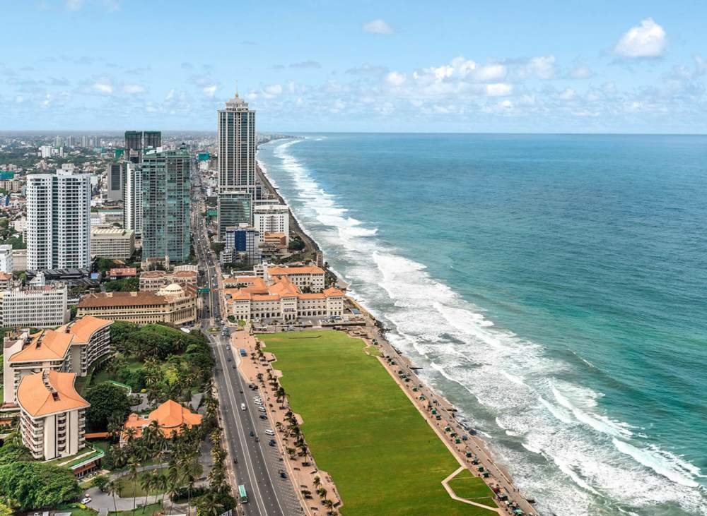 Galle Face Green Best Tour Place